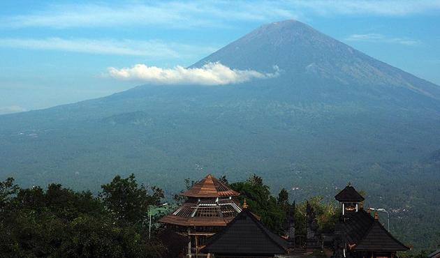 Bali Adası'ndan 130 bin kişi tahliye edildi