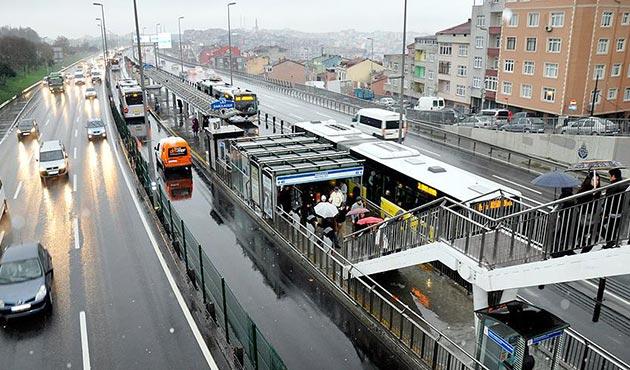 İBB'den 'metrobüs durağı' açıklaması