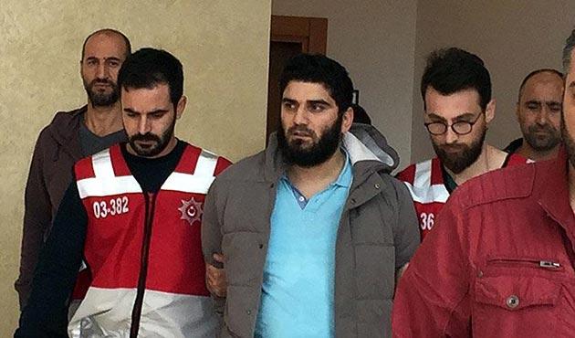Kaldırımda yürüyen kadına saldıran maganda tutuklandı
