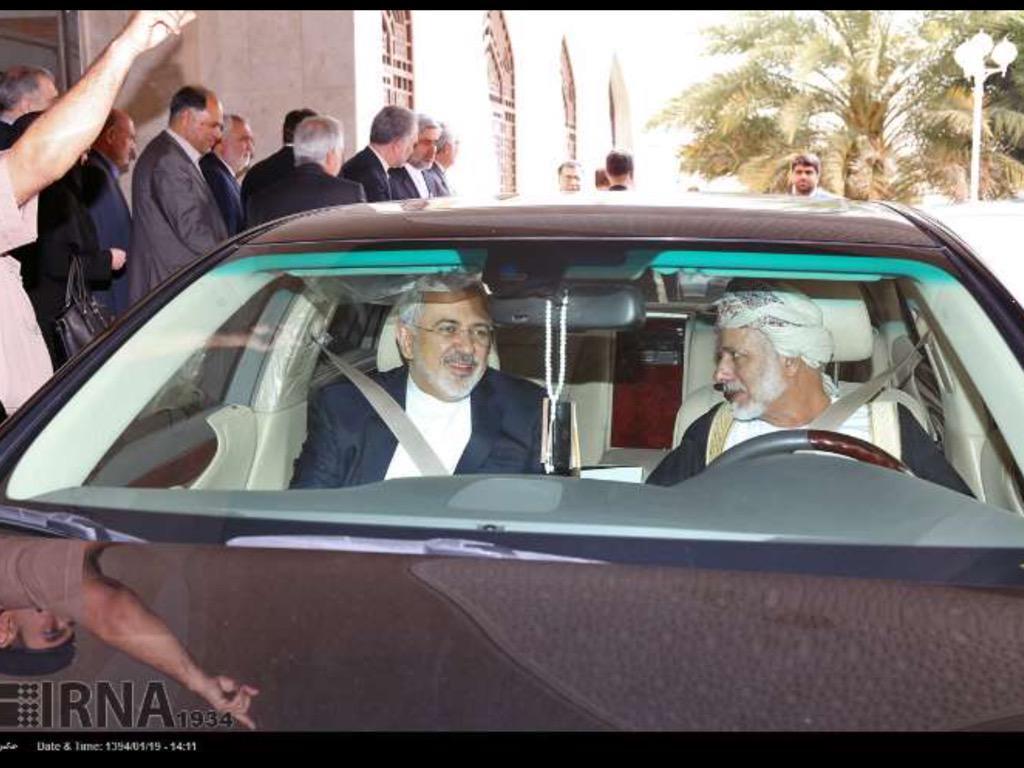 İran Dışişleri Bakanı Zarif Umman'da