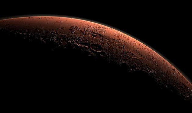 Mars'ın buzul çağında metan gazıyla ısındığı teorisi