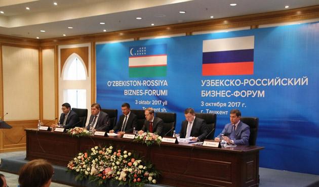 Özbekistan, Rusya ile ticareti 5 milyar dolara çıkarmayı planlıyor