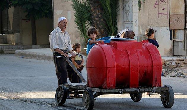 Şam'ın Doğu Guta bölgesi açlığın pençesinde