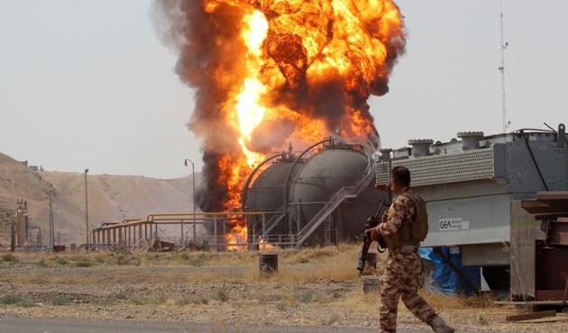DEAŞ Havice'nin petrolünü çaldı
