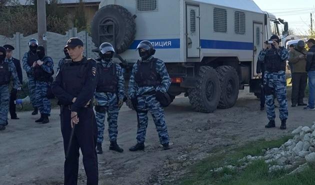 Kırım'da 15 Tatar gözaltına alındı