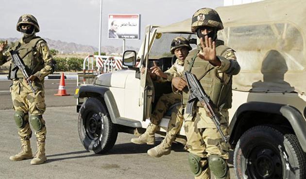 Mısır'ın Sina Operasyonu'nda 4 asker hayatını kaybetti