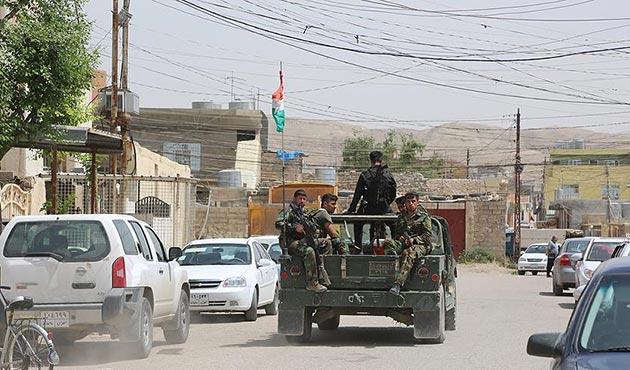 Tuzhurmatu'da Peşmerge ve Haşdi Şabi arasında çatışma