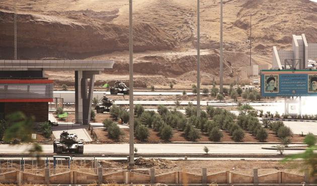 İran'ın Kuzey Irak ile sınır kapıları kapandı