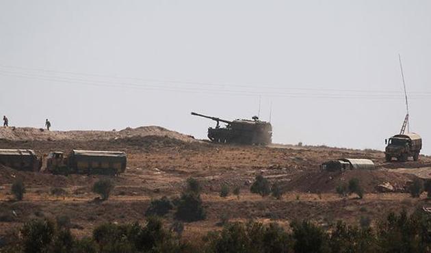 TSK'nın zırhlıları sınır hattına konuşlandırıldı