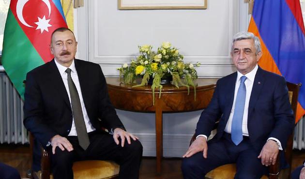 Aliyev ve Sarkisyan Dağlık Karabağ'ı görüştü