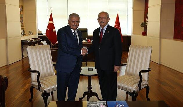 Başbakan Yıldırım, Meclis'te Kılıçdaroğlu ile görüşecek