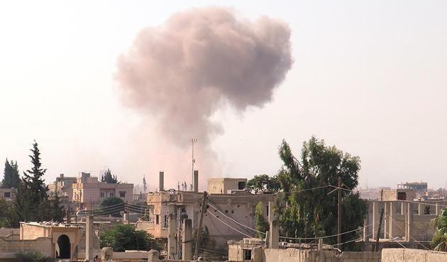 Esed rejimi Humus'ta ateşkesi ihlal etti