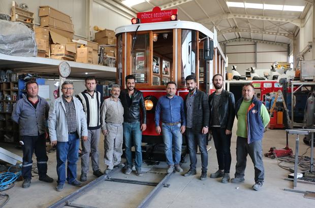 Denizli'den akülü ve güneş enerjili tramvay ihracatı