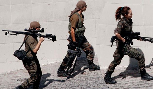 Özel harekata kadın polis