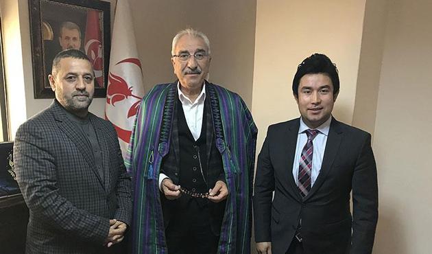 Afgan heyetinden BBP'ye ziyaret
