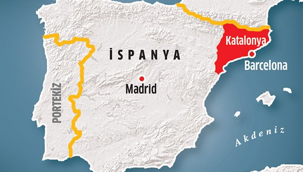 Katalonya yerel hükümeti feshedildi
