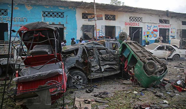 Somali'de bombalı araçla saldırı: 7 ölü, 10 yaralı
