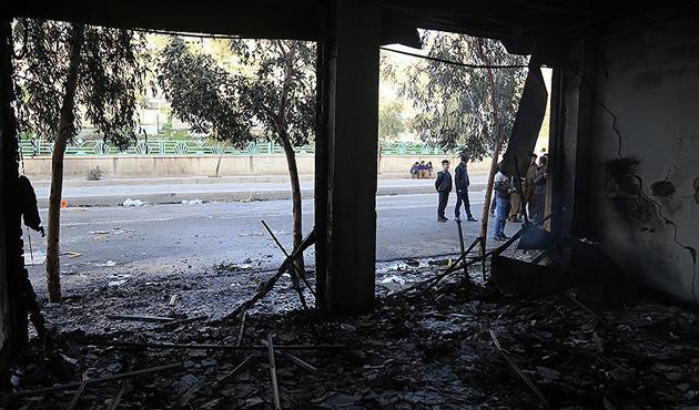 KYB ve Goran partilerine ait binalar ateşe verildi
