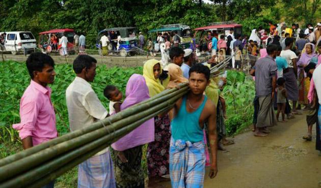 Bangladeş'e Arakanlı sığınmacı akını devam ediyor