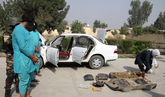Afganistan'da intihar saldırısı son anda önlendi