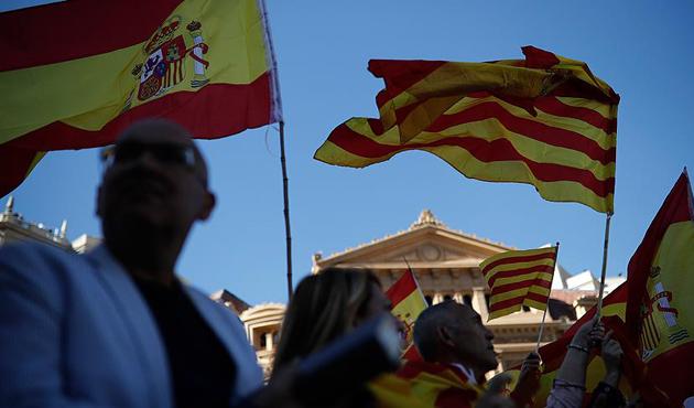 Katalonya'da genel grev kararı | GRAFİK