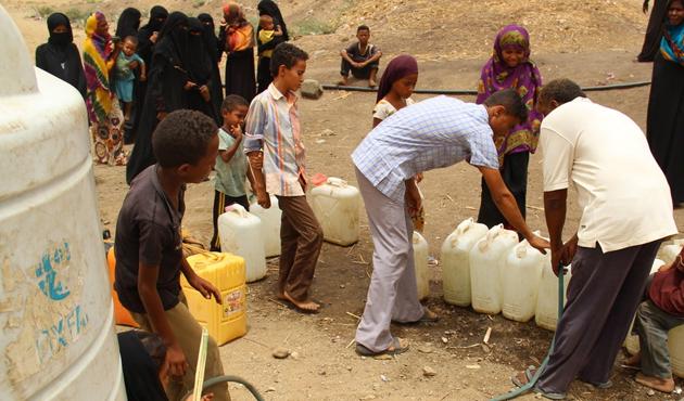 Yemen'de akaryakıt krizi