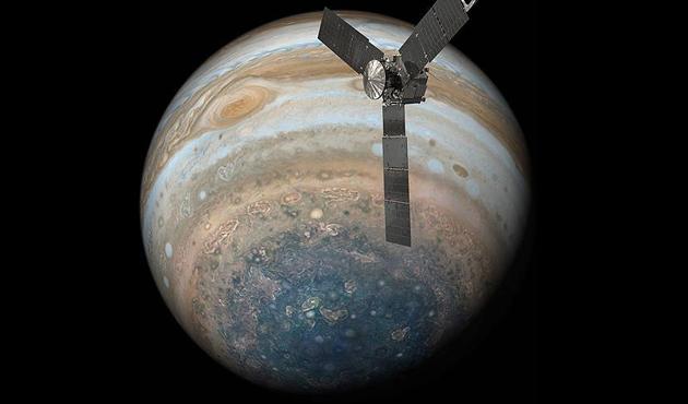NASA, Jüpiter'in yeni görüntülerini yayınladı