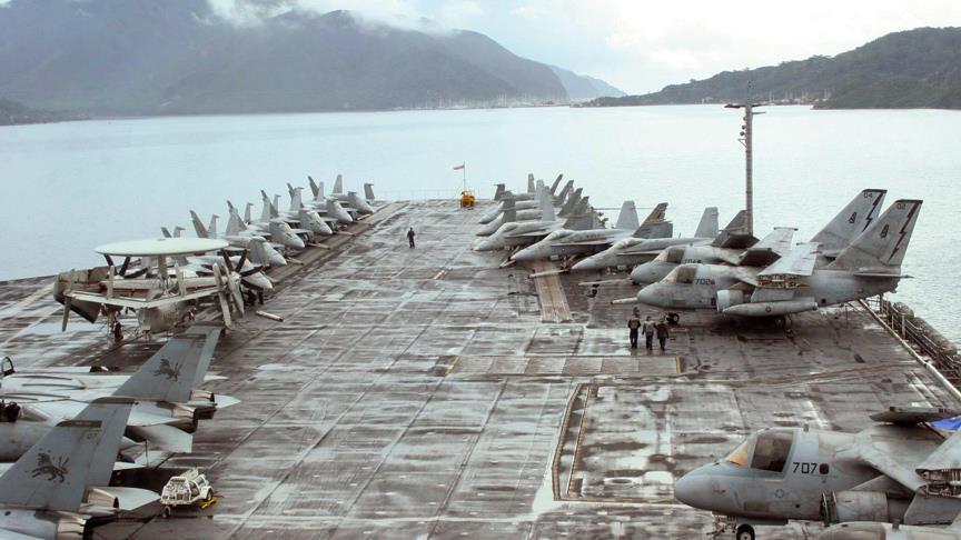 ABD ordusundan Pasifik'te tatbikat