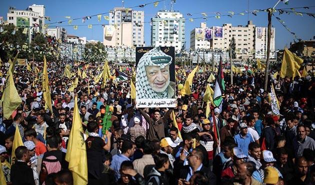 Filistin lideri Arafat'ın vefatının 13'üncü yılı