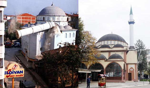 Deprem şehrin mimarisini değiştirdi   FOTO