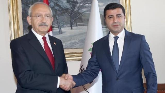 Kılıçdaroğlu ve Demirtaş'ın dokunulmazlık dosyaları Meclis'te