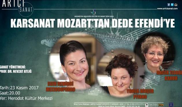 Nevzat Atlığ Mozart ve Dede Efendi'yi buluşturdu