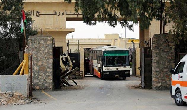 Refah, Filistin Yönetimi'nin kontrolünde geçişlere açıldı
