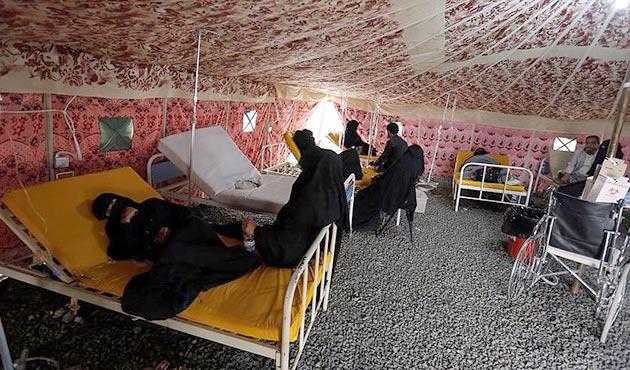 Yemen'de koleradan sonra şimdi de difteri salgınından ölümler başladı
