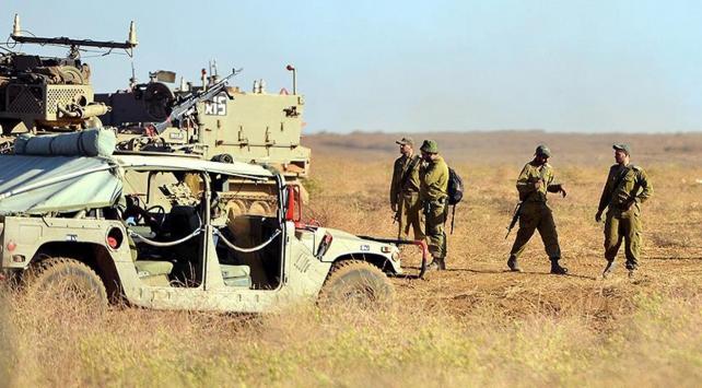 İsrail, 'Suriye'den 20 roket atıldı' deyip yine saldırdı