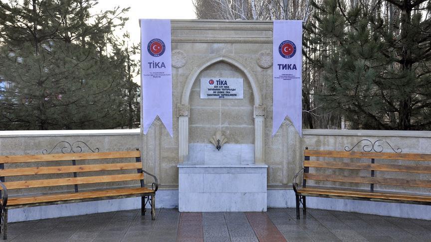 TİKA'dan Kırgızistan'da içme suyu projesi