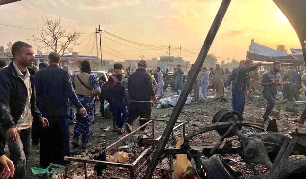 Tuzhurmatu'da bombalı saldırı, 20 ölü