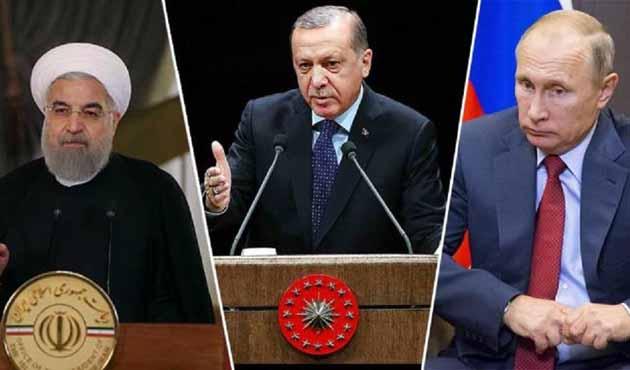 Erdoğan Rusya'ya ulaştı