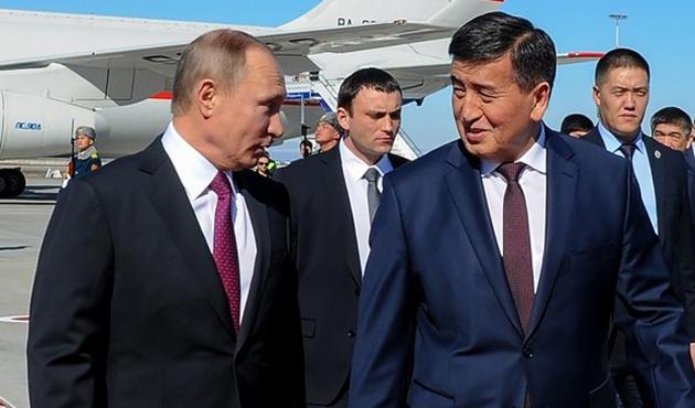 Ceenbekov ilk ziyaretini bugün Rusya'ya yapıyor