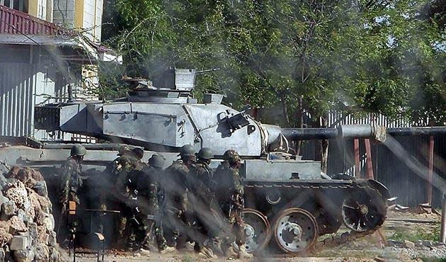 Somali güçleri, Eş-Şebab kontrolündeki kasabayı geri aldı