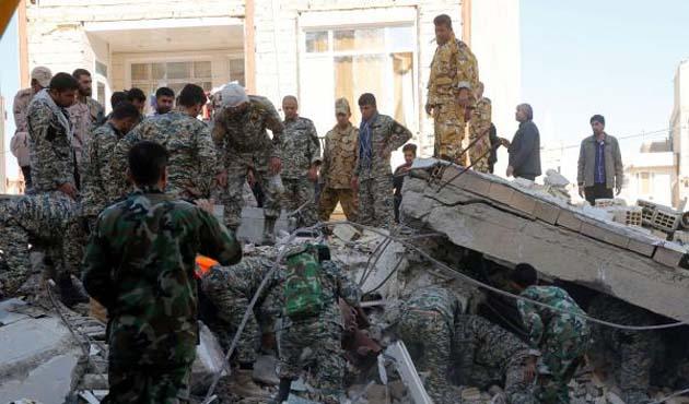İran'da 6 büyüklüğünde deprem meydana geldi