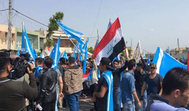Erbil'de 'Haşdi Şabi karşıtı' gösteri
