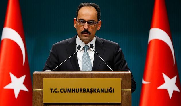 Cumhurbaşkanlığı Sözcüsü Kalın'dan 'Sevakin Adası' açıklaması