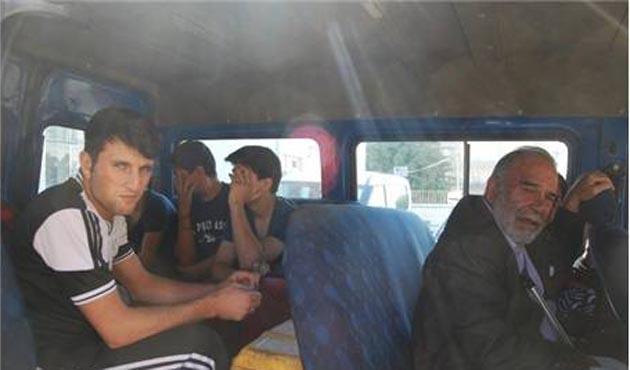 Hatay'da 17 yabancı uyruklu yakalandı