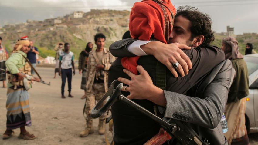 Yemen'de esir takası yapıldı