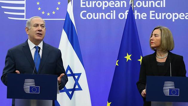 Mogherini'den Netanyahu'nun yüzüne 'Kudüs' mesajı
