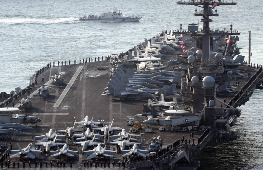 Güney Kore, ABD ve Japonya'dan füze savunma tatbikatı
