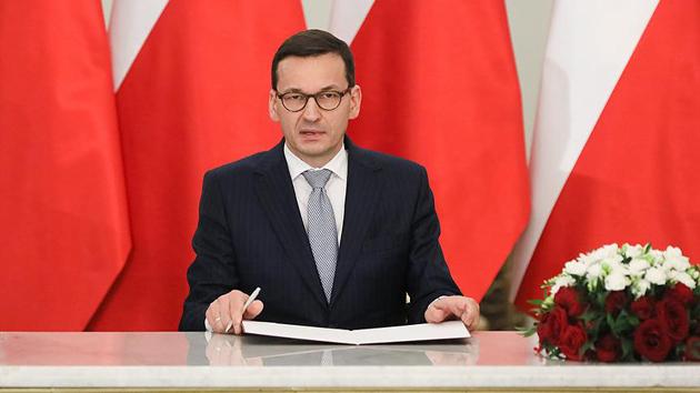 Polonya'da Morawiecki dönemi başladı