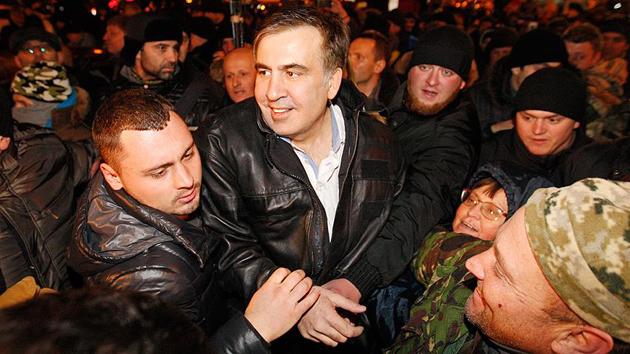 Eski Gürcistan Cumhurbaşkanı Saakaşvili serbest bırakıldı