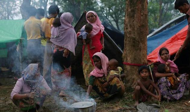 Singapur'dan Arakanlı Müslümanlara yardım